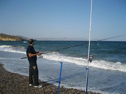 foto pesca mar mazarron: